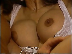Vintage porn. Stocking clad Latina takes cock and cum