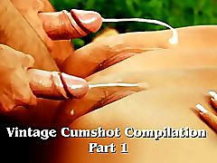 Vintage Cumshot Compilation (Part 1)