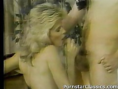 Ginger Lynn and Tom Byron suck and fuck!