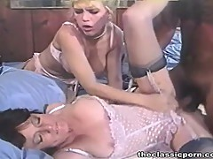 hard threesome with wife and GF
