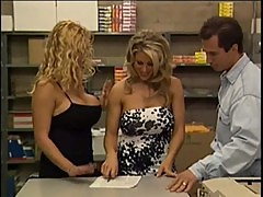 Ericka Everest and Kim Chambers - Return to Boobsville.com (2000)