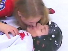 Russian-pauline polyanskaya in ice hockey prt 2
