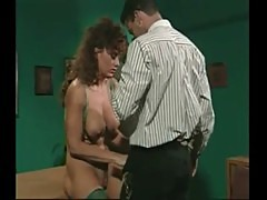 Retro Busty Milf Anal In Office