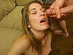 Mature slut bangs two young guys