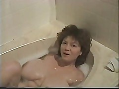 Woman with giant tits - them were the days